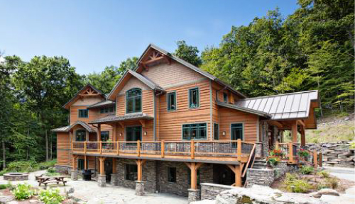 Gerald Cedar Timber Home