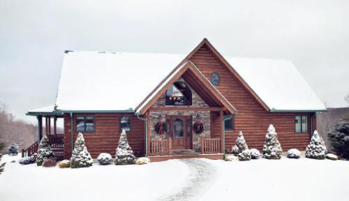 Overlook Retreat Log Home