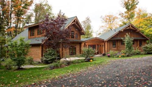 Tumbleweed Log Home