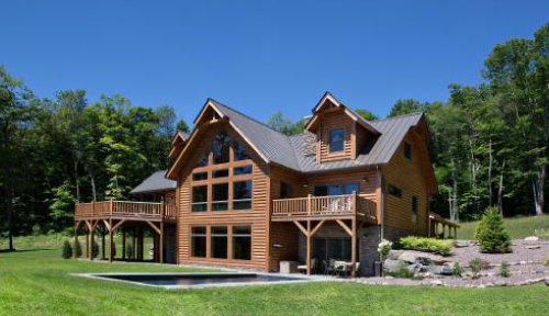 Valley View Log Home