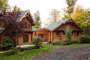 Beaver Mountain Log Homes Tumbleweed