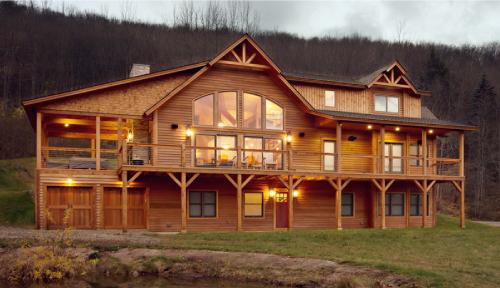 Country Cubco Cedar Home