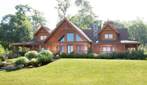 Green Acres Log Home