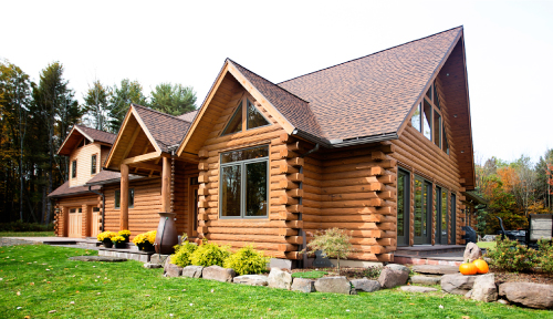 Lost Acres Log Home Makeover
