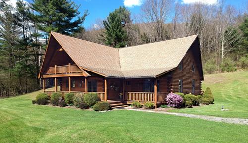 Classic Lodge Model Log Home