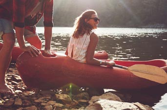Outdoor Lifestyle Kayaking