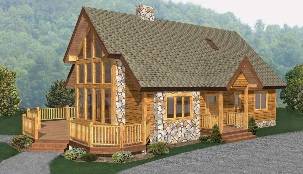 Cedar Ridge Timber Home Beaver Mountain