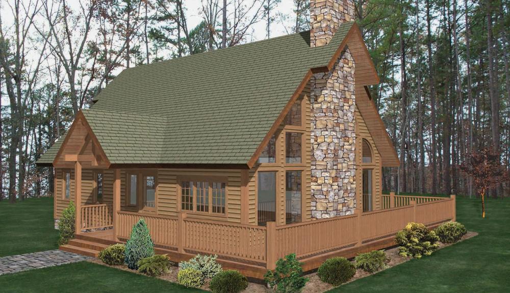 Coxsackie Timber Home Classic Floor Plan