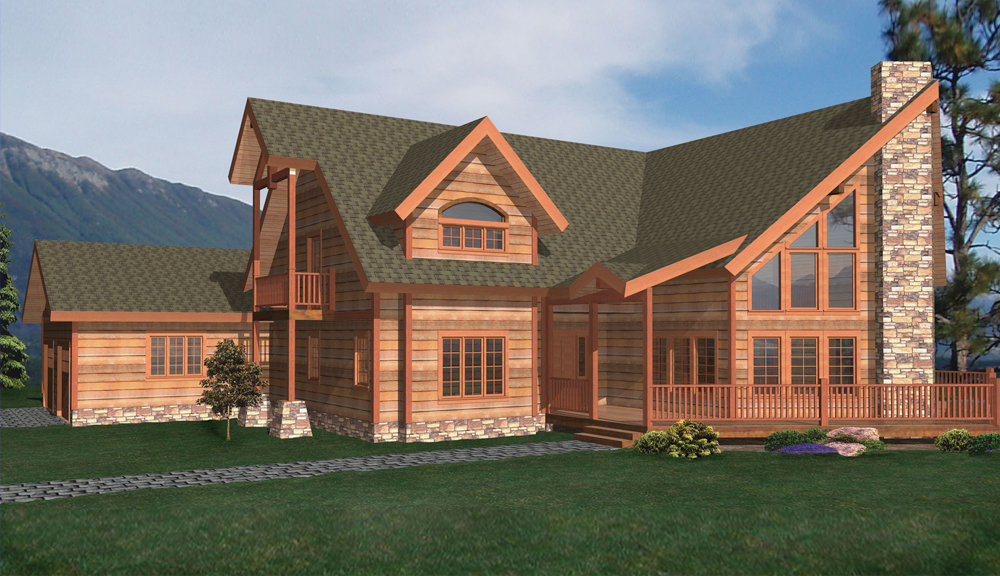 Grand Gorge Timber Home Classic Floor Plan