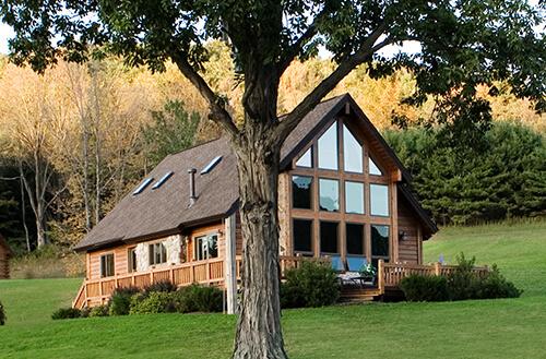 Beaver Mountain Log Homes Cedar Ridge Model Home