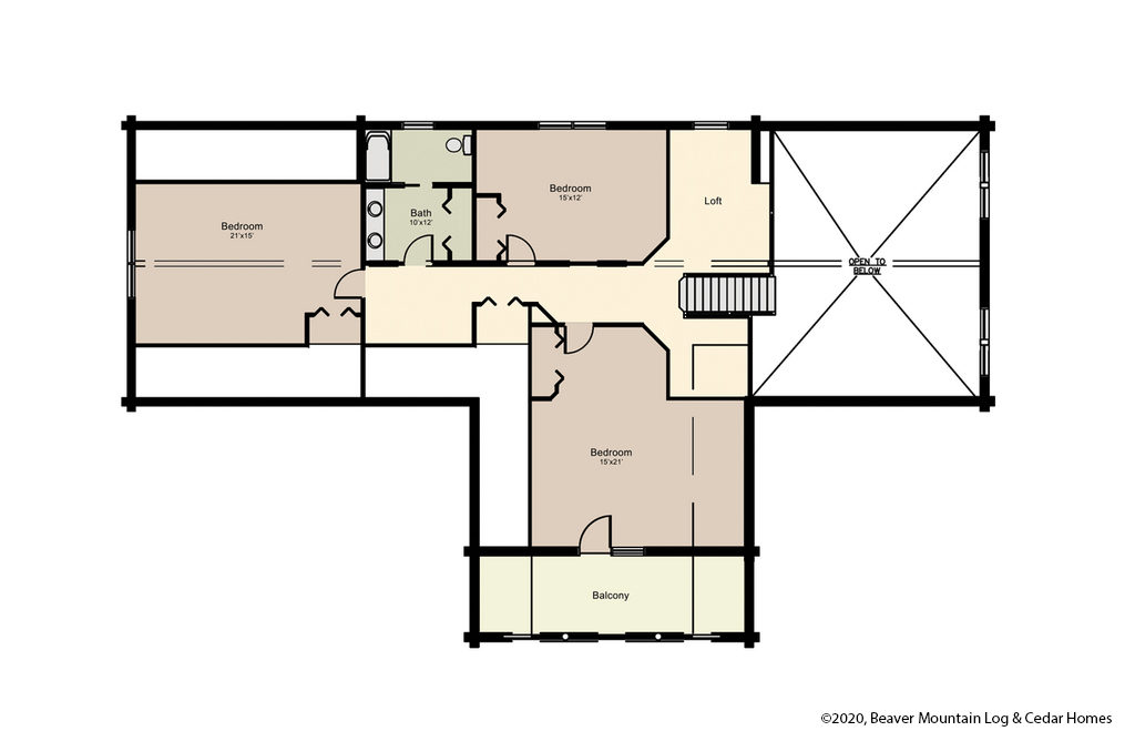 Bartch Classic Lodge Lower Level Floor Plan