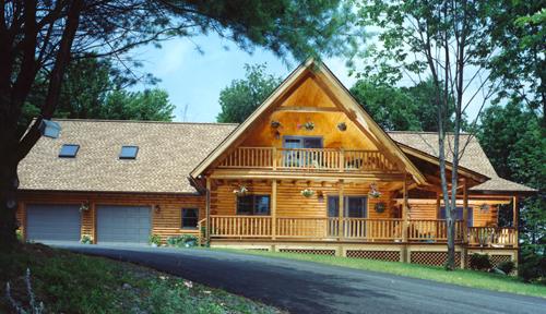 Bartch Classic Lodge Log Home