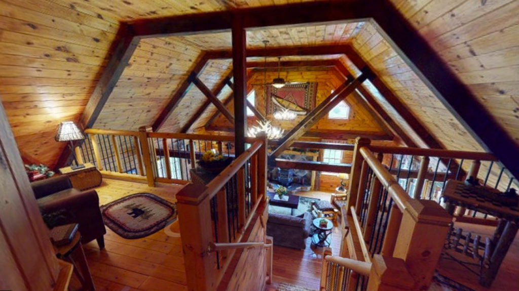 Beaver Mountain Log Homes Classic Lodge Loft